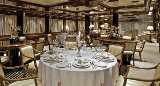 Omega Mitsubishi Yacht 82M Interior 3