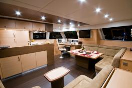 Sail 62' Sunreef Catamaran Interior 1
