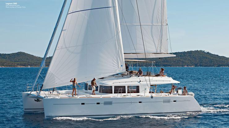 Location de bateaux Lagoon560