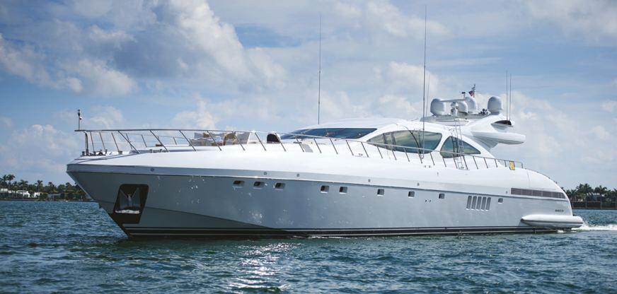 Location de bateaux Mangusta130