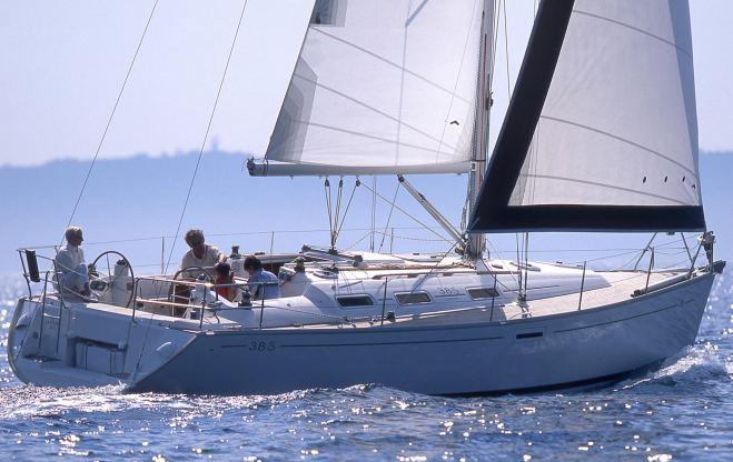 Location de bateaux Dufour385