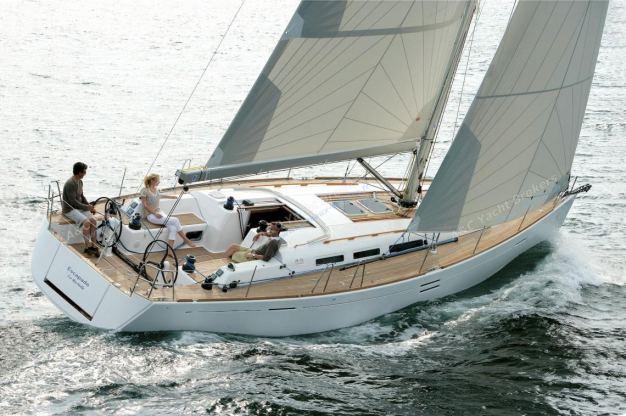 Location de bateaux Dufour45E