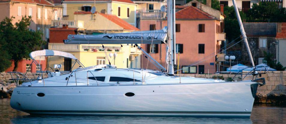 Location de bateaux Elan384 Impression