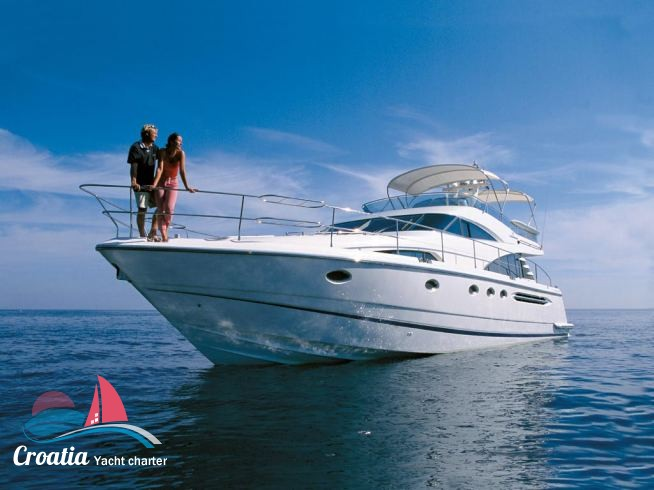Croatia yacht Fairline Squadron 58