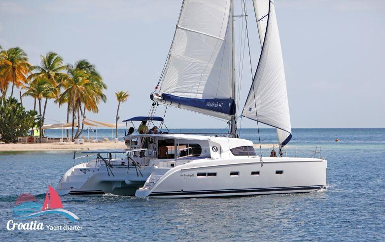Croatia yacht Nautitech Catamaran Nautitech 44