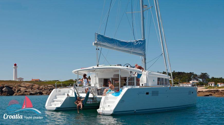 Croatia yacht Lagoon Catamaran Lagoon 450