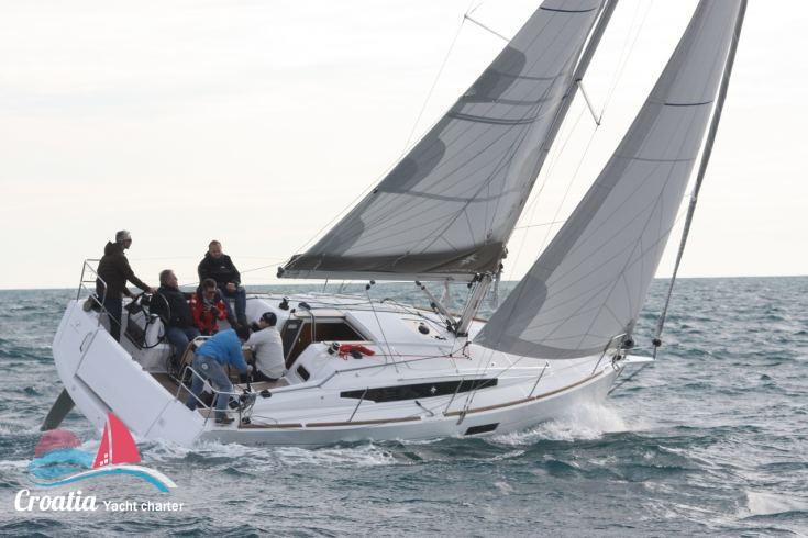 Croatia yacht Jeanneau Sun Odyssey 349