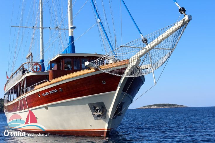 Croatia yacht Turkish Gulet - TJC 31M