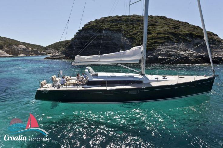 Croatia yacht Beneteau Sense 55