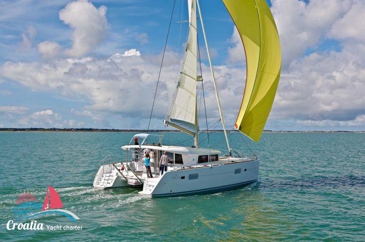 Croatia yacht Lagoon Catamaran Lagoon 400