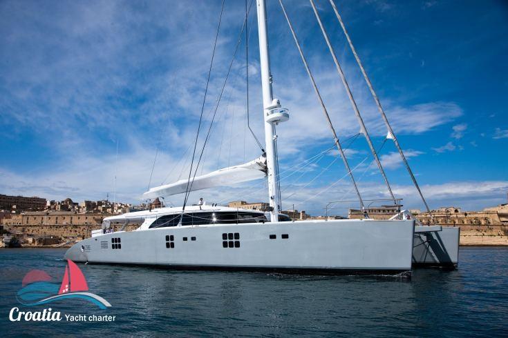Croatia yacht Sunreef Catamaran Sail 113'