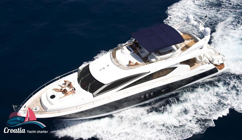 Croatia yacht Sunseeker Yacht 75'