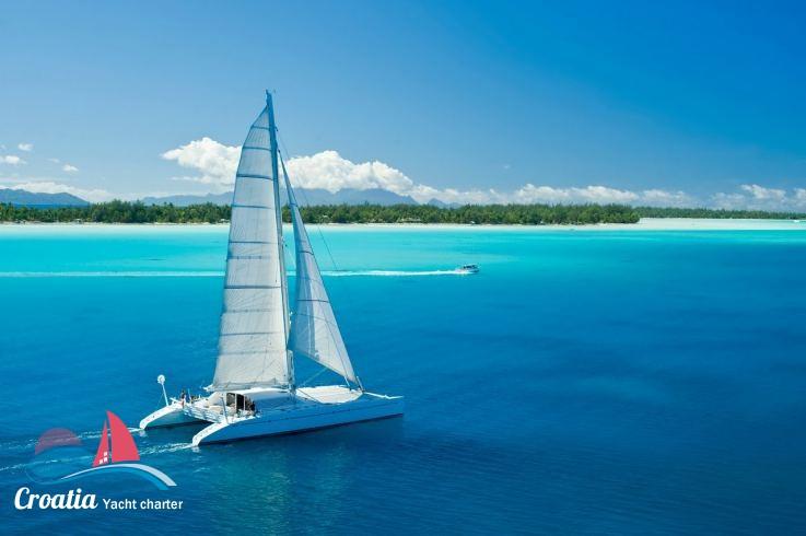 Croatia yacht Multiplast Catamaran 25M