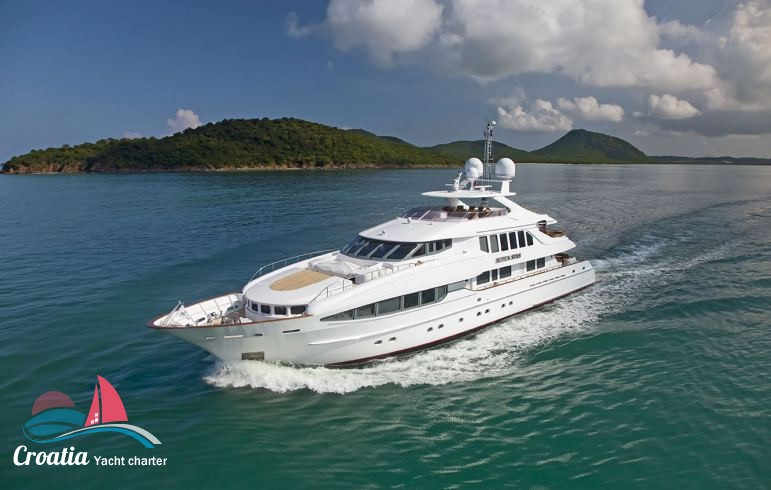 Croatia yacht Heesen Yacht 41M