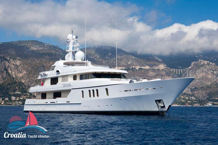 Croatia yacht Feadship Yacht 50M