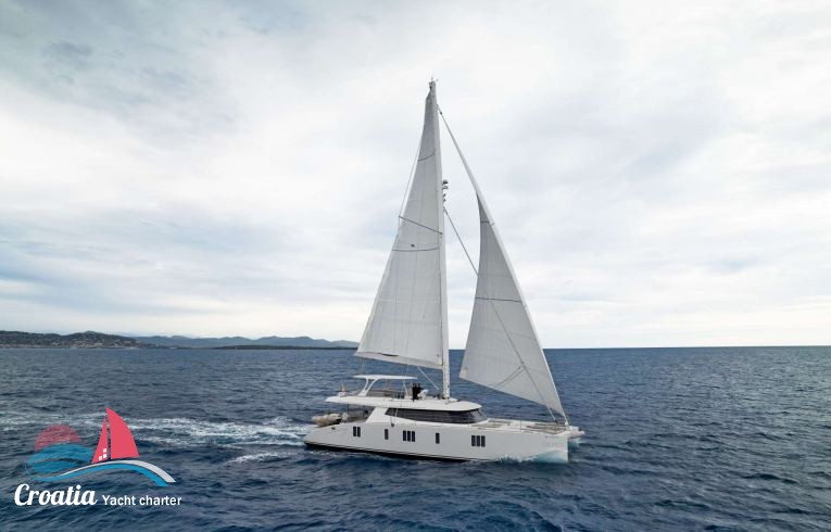 Croatia yacht Sunreef Catamaran Sail 74'