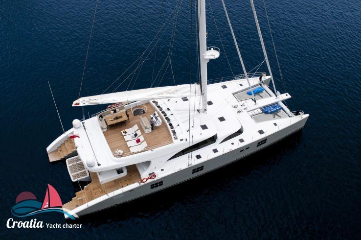 Croatia yacht Sunreef Catamaran Sail 102'