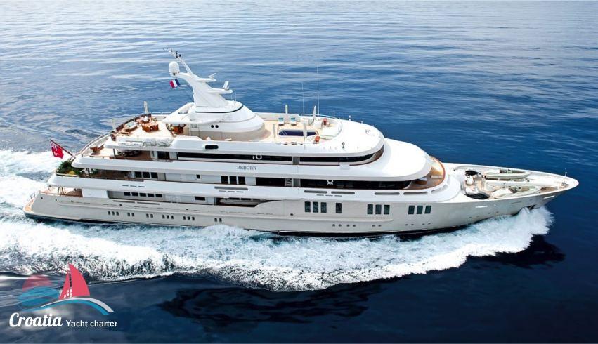 Croatia yacht Amels Yacht 76M