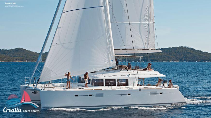 Croatia yacht Lagoon Catamaran Lagoon 560