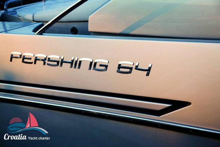 Croatia yacht Pershing Yachts Pershing 64