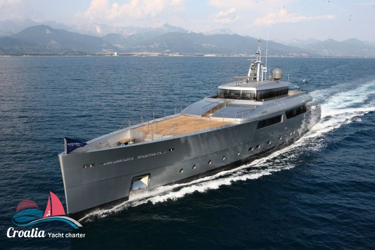 Croatia yacht Picchiotti Yacht 50M