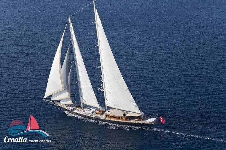 Croatia yacht Turkish Gulet - 56M