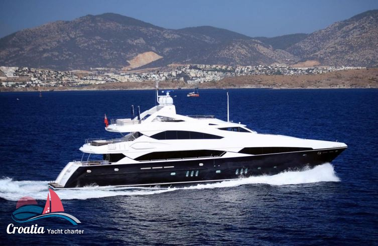 Croatia yacht Sunseeker Yacht 37M