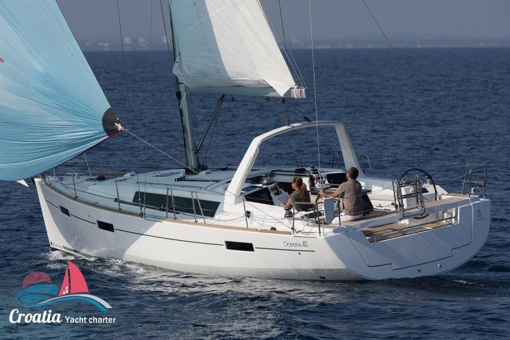 Croatia yacht Beneteau Oceanis  41