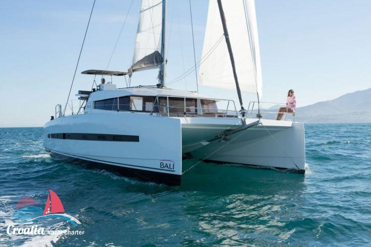 Croatia yacht Catana Catamaran Bali 4.5