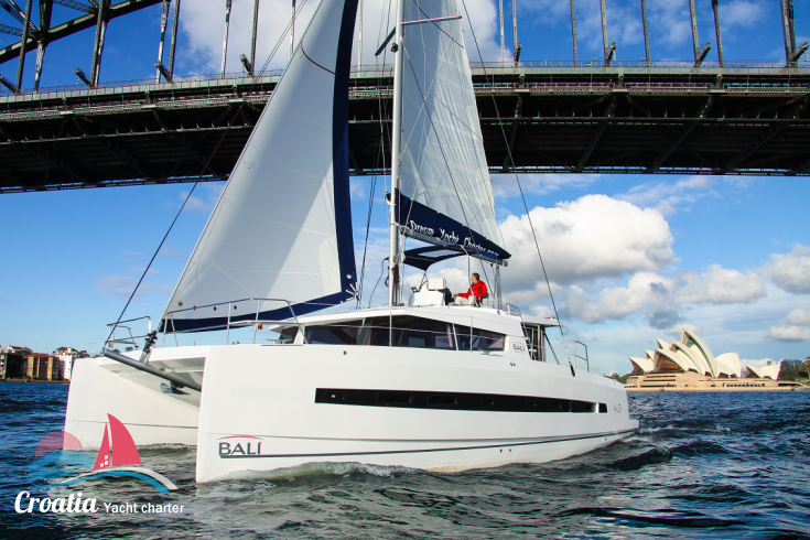 Croatia yacht Catana Catamaran Bali 4.3