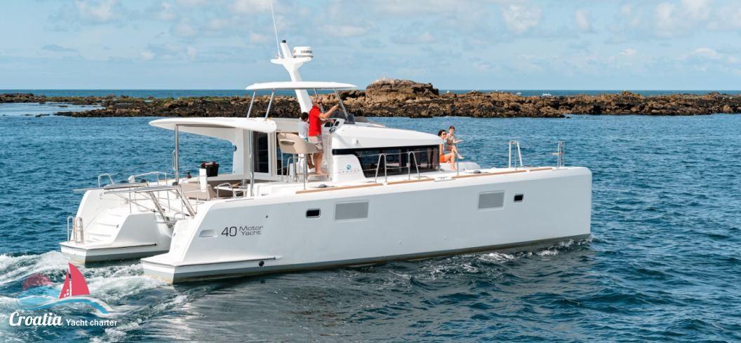 Croatia yacht Lagoon Catamaran Lagoon Motoryacht 40