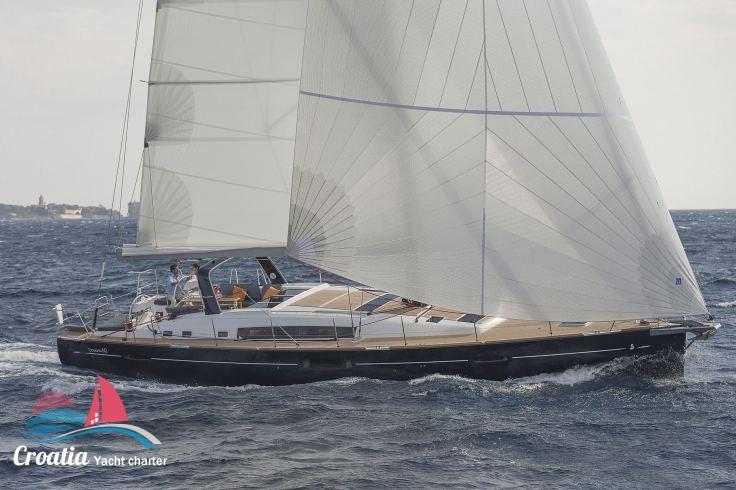 Croatia yacht Beneteau Oceanis  60