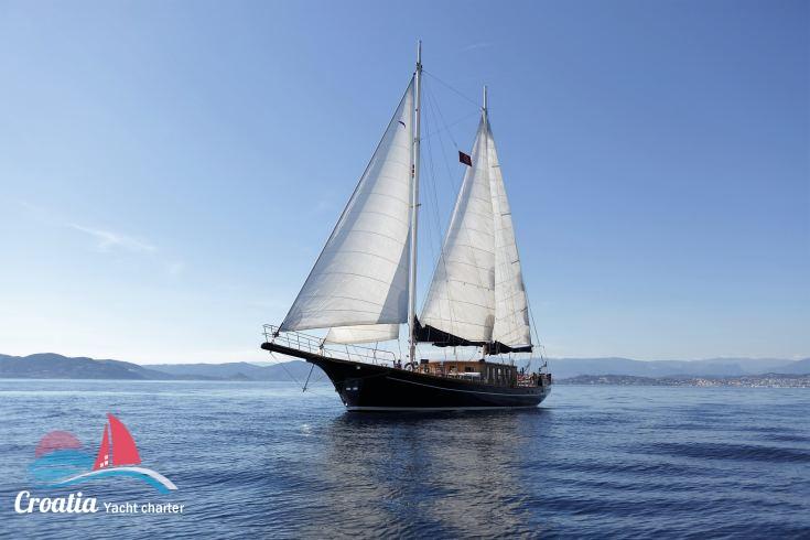 Croatia yacht Custom Schooner 28M