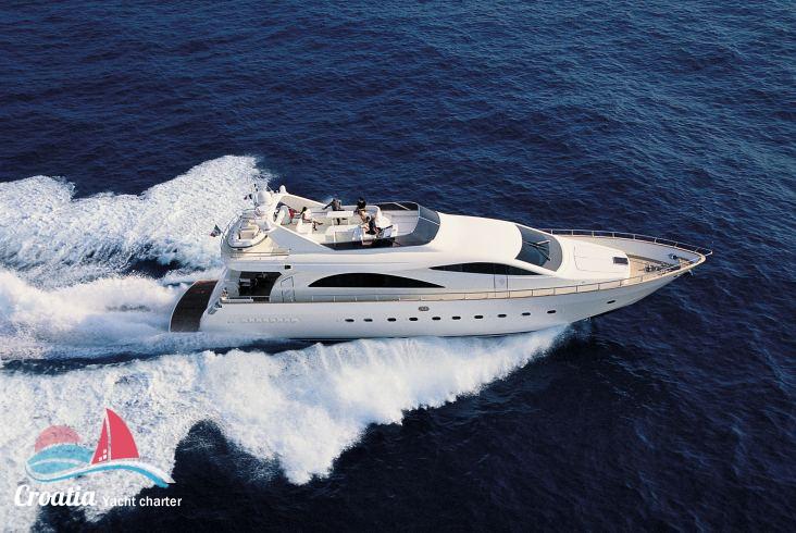 Croatia yacht Versilmarine Amer 86