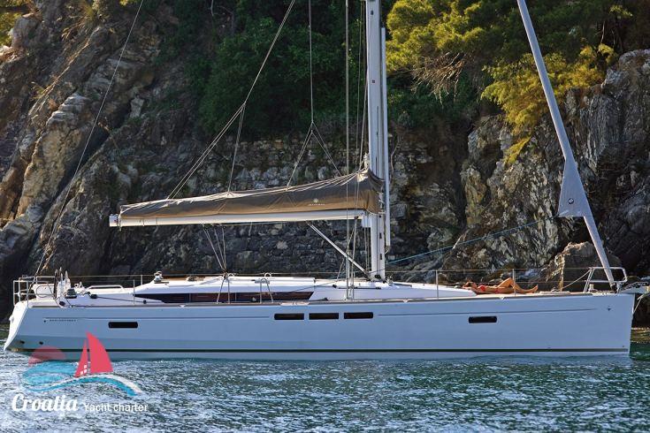 Croatia yacht Jeanneau Sun Odyssey 519