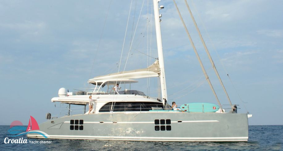 Croatia yacht Sunreef Catamaran Sail 70'