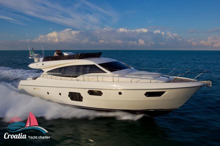 Croatia yacht Ferretti Yacht 620