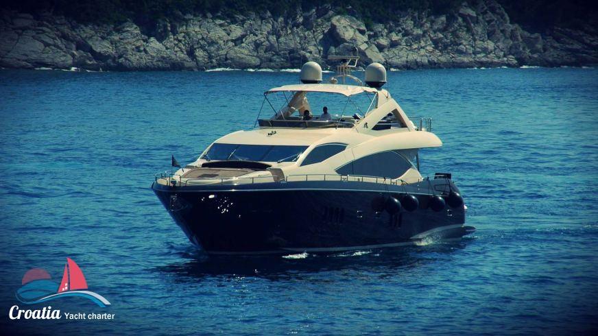 Croatia yacht Sunseeker Yacht 86'