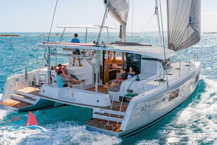Croatia yacht Lagoon Catamaran Lagoon 42