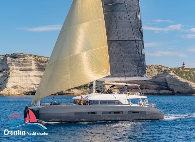 Croatia yacht Lagoon Catamaran Lagoon 77