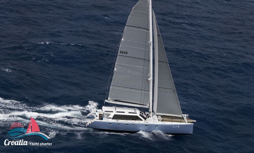 Croatia yacht Custom Catamaran Gunboat 66