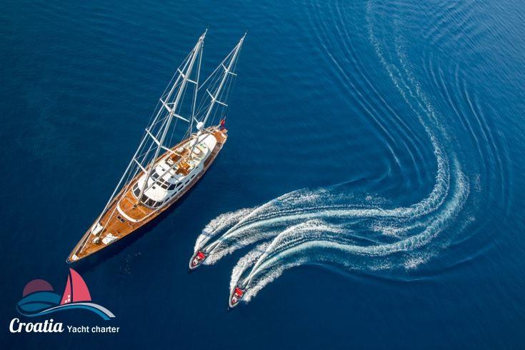 Croatia yacht Perini Navi Ketch 46M