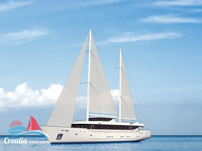 Croatia yacht Custom Ketch  46M