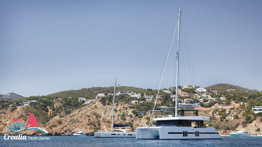 Croatia yacht Sunreef Catamaran Supreme 68