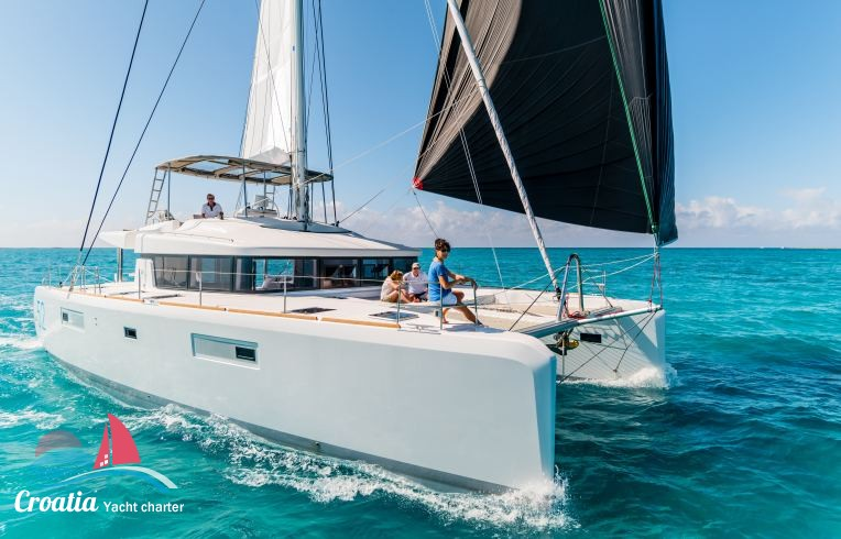 Croatia yacht Lagoon Catamaran Lagoon 52