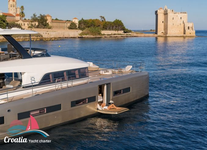 Croatia yacht Lagoon Catamaran Lagoon Motoryacht 78