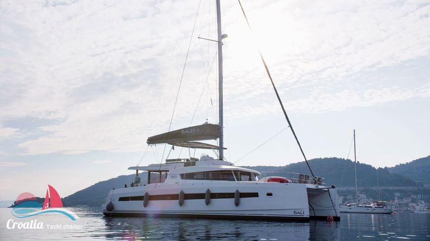 Croatia yacht Catana Catamaran Bali 5.4