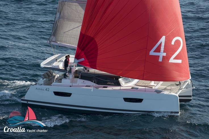 Croatia yacht Fountaine Pajot Astrea 42