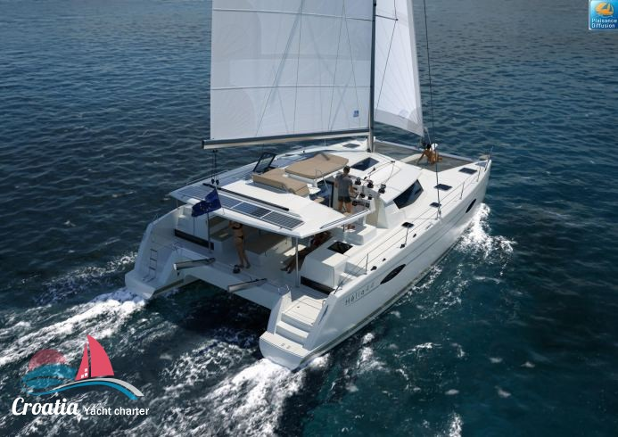 Croatia yacht Fountaine Pajot Helia 44