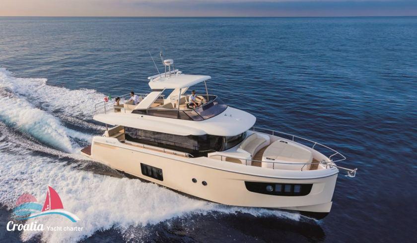 Croatia yacht Absolute Yachts Navetta 52